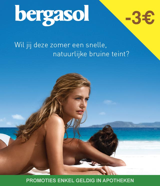 Bergasol - Zonneproducten 3€ Terugbetaald cashback op myShopi