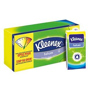 Cashback Kleenex Balsam 50% Remboursé sur myShopi