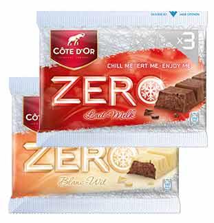 Cashback Côte d'Or Zero 1 + 1 Gratuit sur myShopi