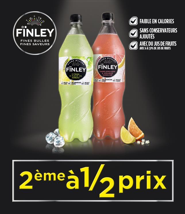 Cashback Finley 2ème à 1/2 prix sur myShopi