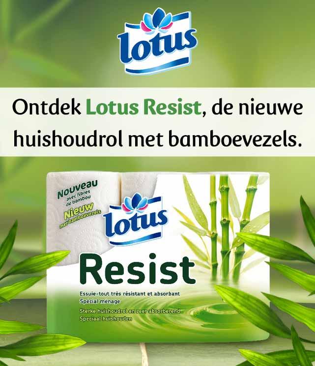 Lotus Resist 100% Terugbetaald cashback op myShopi