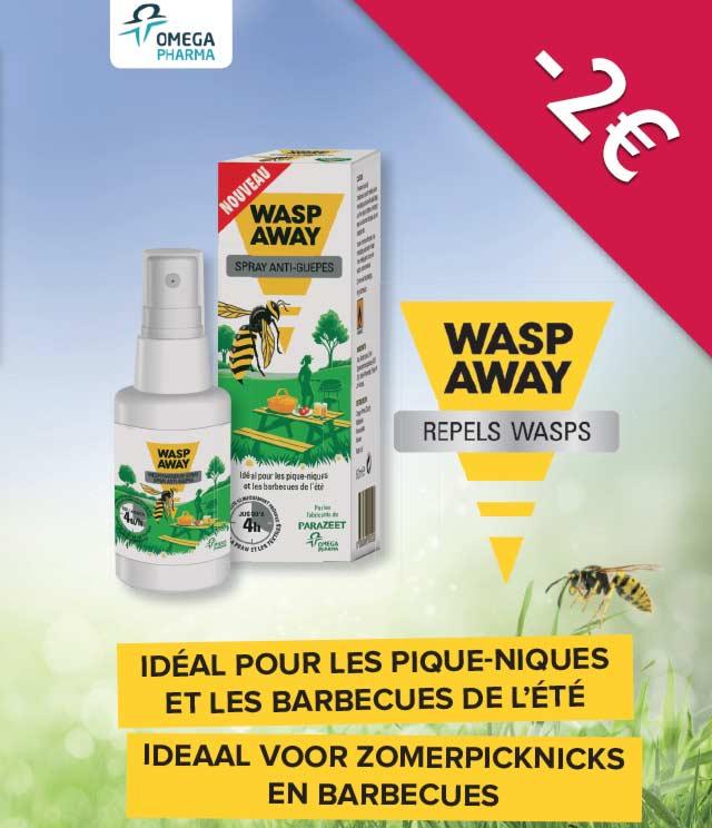 Wasp Away Wespenspray 2€ Terugbetaald cashback op myShopi