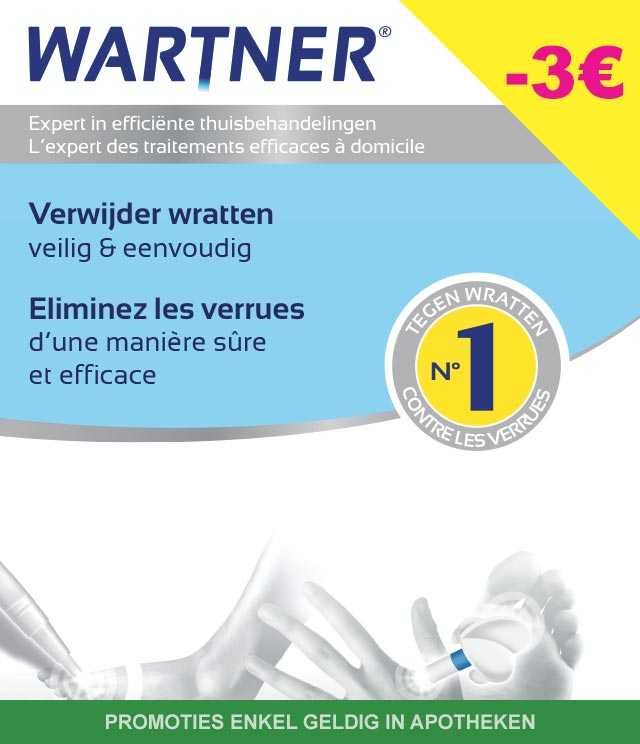 Wartner - Wratten 3€ Terugbetaald cashback op myShopi