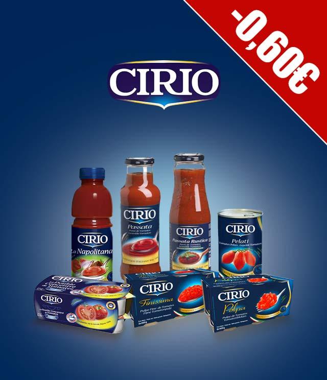 Cirio 0,60€ Terugbetaald cashback op myShopi