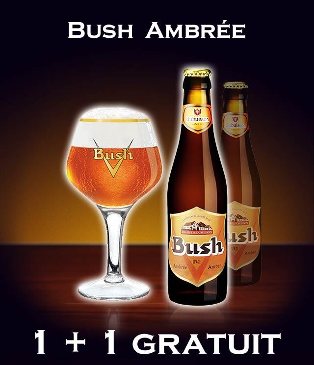 Cashback Bush Ambrée 1 + 1 Gratuit sur myShopi