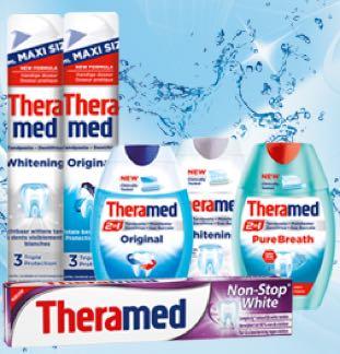 Theramed tandpasta 100% Terugbetaald