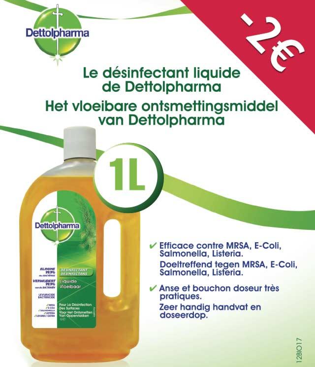 Cashback Dettolpharma Désinfectant 2€ Remboursés sur myShopi