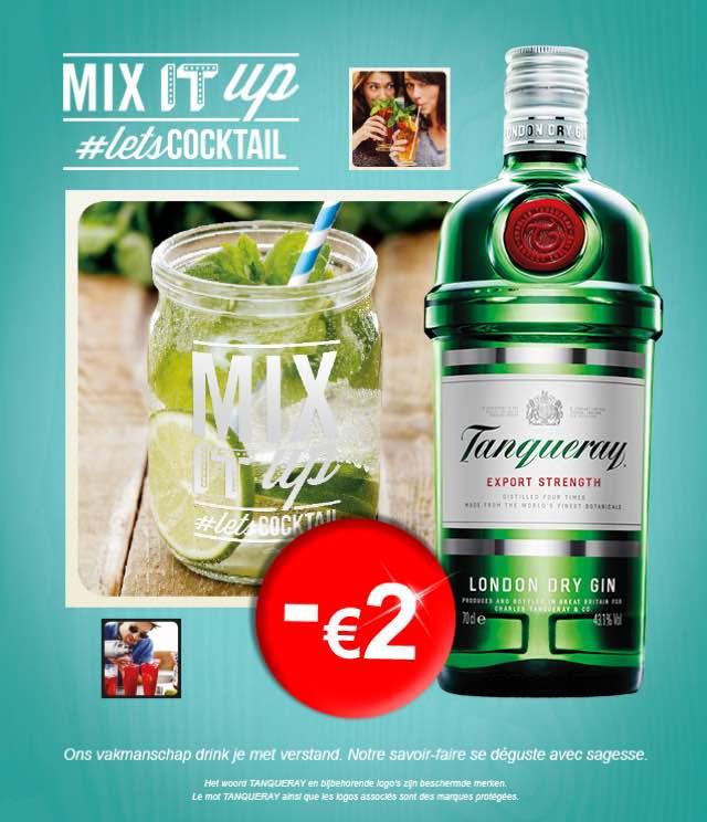 Cashback Tanqueray London Dry Gin 2€ Remboursés sur myShopi