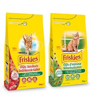 Friskies Kat 1 + 1 Gratis cashback op myShopi