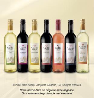 Cashback Vin Gallo Family Vineyards 75cl 50% remboursé sur myShopi