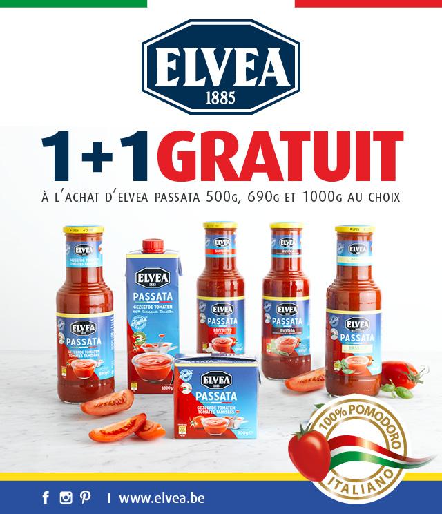 Cashback Elvea Passata 1+1 gratuit sur myShopi