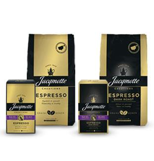 Jacqmotte Espresso gamma  1+1 gratis  cashback op myShopi