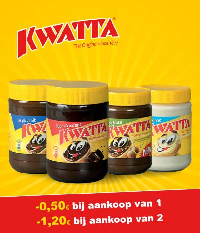 Chocopasta Kwatta -0,50€ / -1,20€ cashback op myShopi