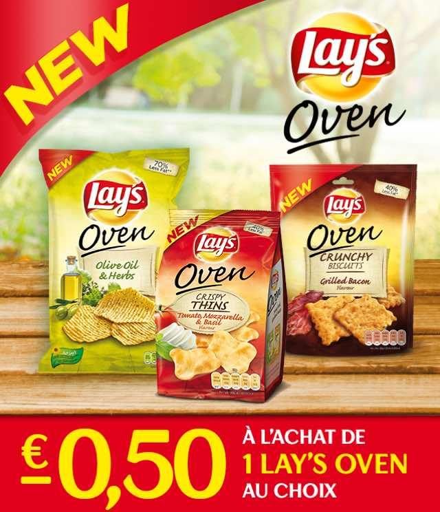 Cashback Lay's Oven 0,50€ Remboursé sur myShopi