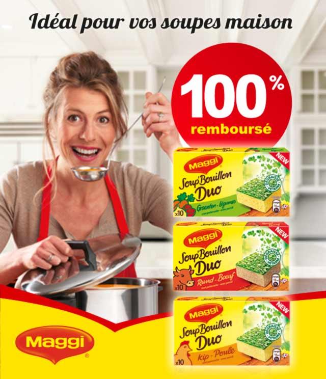 Cashback MAGGI® Soup' Bouillon Duo 100% Remboursé sur myShopi