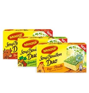 MAGGI® Soup' Bouillon Duo 100% Terugbetaald cashback op myShopi