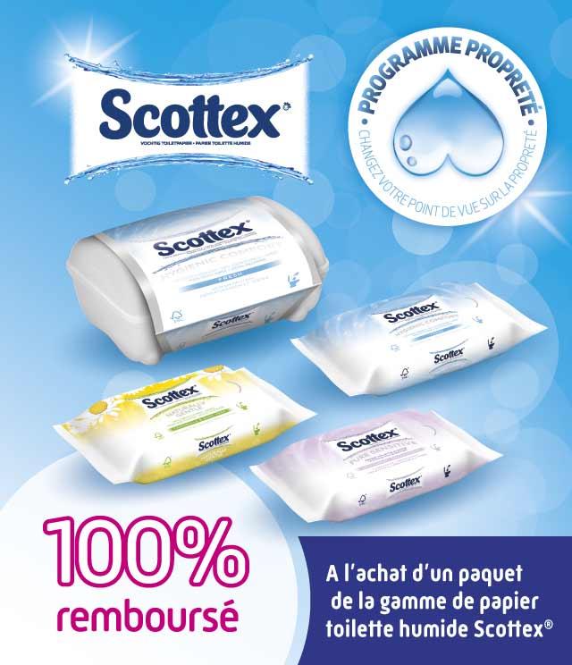 cashback scottex papier toilette humide myshopi. Black Bedroom Furniture Sets. Home Design Ideas