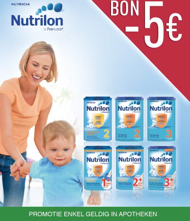 Nutrilon ProNutra 5€ Terugbetaald cashback op myShopi