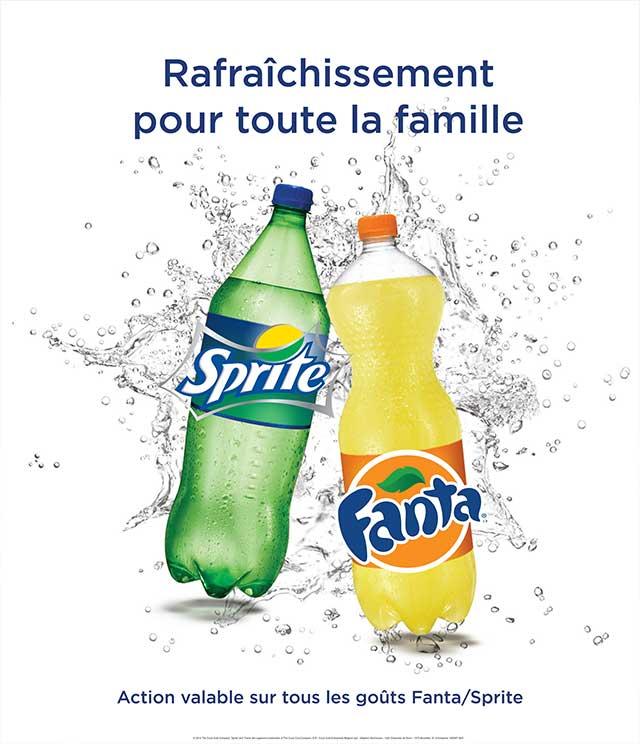 Cashback Fanta & Sprite 1€ Remboursé sur myShopi