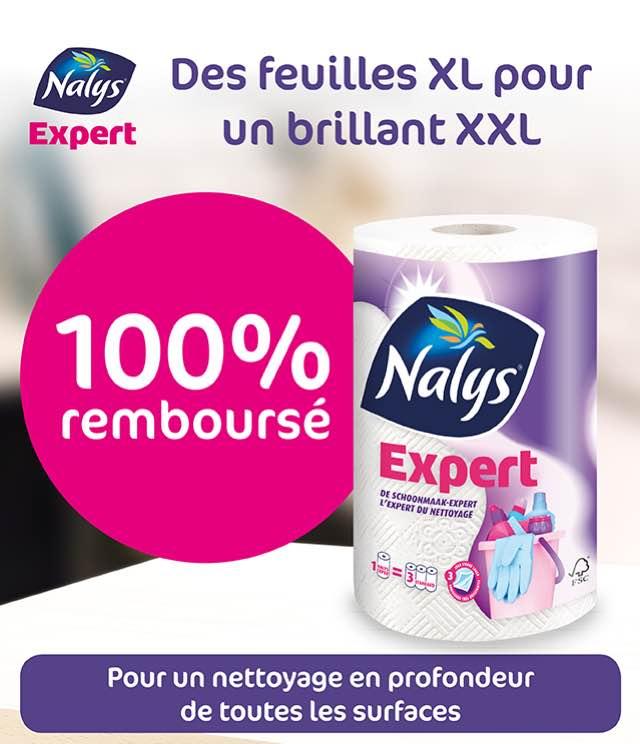 Cashback Nalys/Lotus Expert Essuie-tout 100% Remboursé sur myShopi