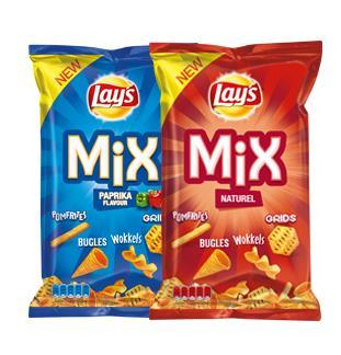 Lay's Snacks Mix 50% terugbetaald cashback op myShopi
